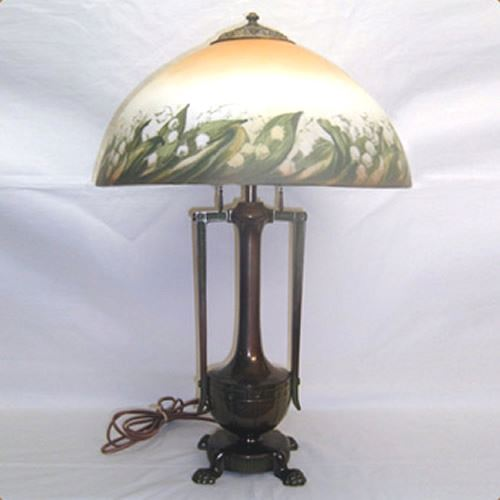 Unsigned Moe Bridges table lamp