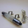 Headboard lamp with satin glass cylinder