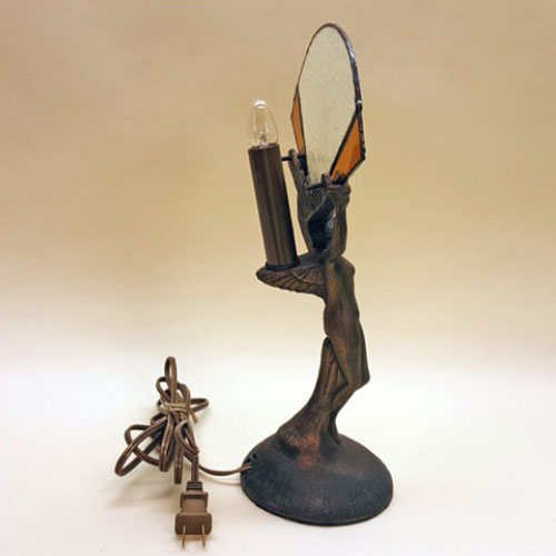 Art Deco Nude Figure Table Lamp Old Lamps Amp Things Llc