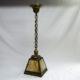Brass ceiling pendant