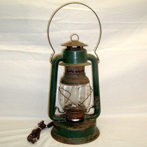 Vintage barn lantern