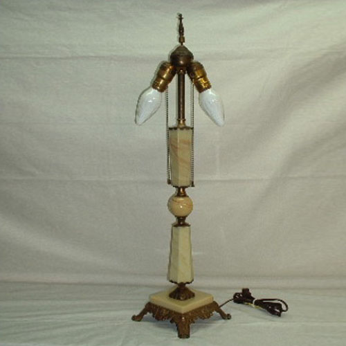 Vintage Jadeite Table Lamp Old Lamps Amp Things Llc