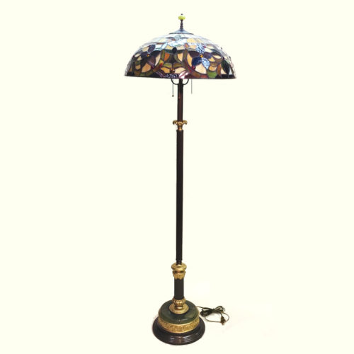 Fully restored standing floor lamp