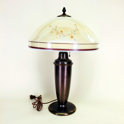 Bradley & Hubbard brass table lamp