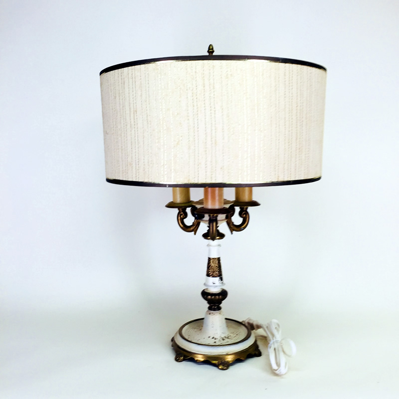 Rembrandt Three Light Table Lamp Old Lamps Things Llc