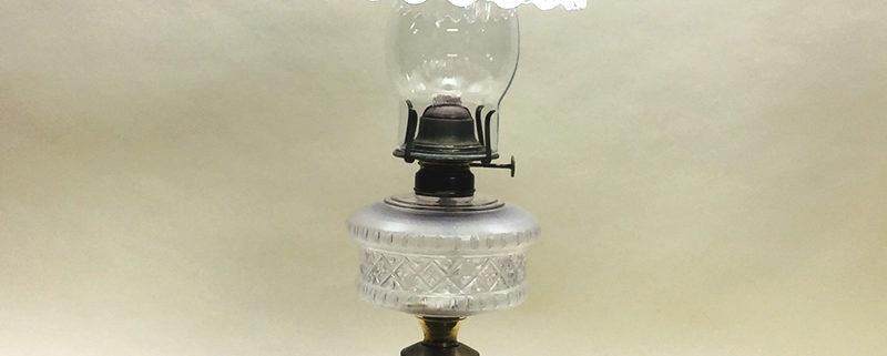 M.B. Co., NY kerosene lamp