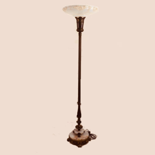 Original 1930s torchiere floor lamp