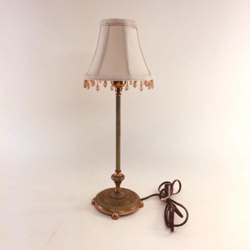 Petite boudoir lamp