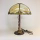 Gas table lamp, converted to electric