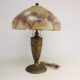 1920s Gold washed table lamp