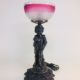 Figural lamp, originally gas