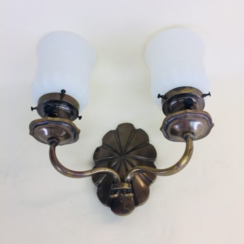 Bradley & Hubbard two-armed sconce