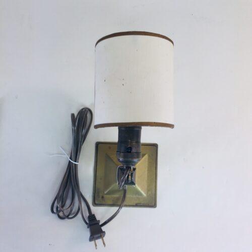 Greist Mfg Co., New Haven brass lamp