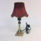 Victorian style boudoir lamp