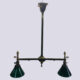 2+2 Gas/electric chandelier
